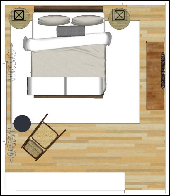 Guest bedroom Plans