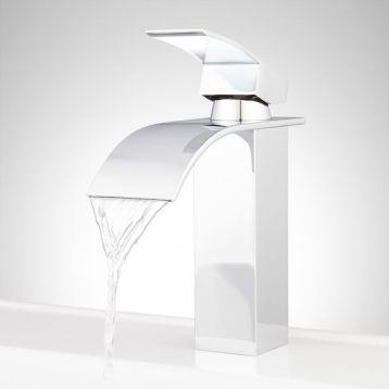 Signature Hardware Sedalia Single Hole Waterfall Faucet